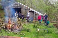 BBQ, Arrochar Meet, May 2019