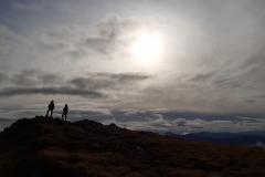 Ben Llewellyn & Danny Struggles on Luinne Bheinn, Knoydart Meet.  October 2019