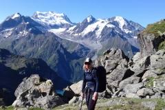 Helen Pritchard, Walkers Haute Route Summer 2019