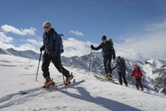 Members Ski Touring , Queyras, France
