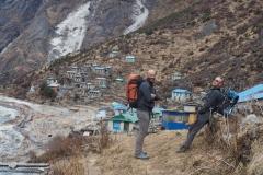 Alf Gleadell, Mark Hatton - Rowaling, Nepal. Photo - Andy Tomlinson.
